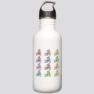 Rainbow Cyclists Stainless Water Bottle 1.0L