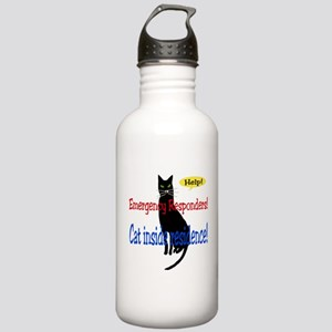 EmergencyResponder Cat Alert Stainless Water Bottl