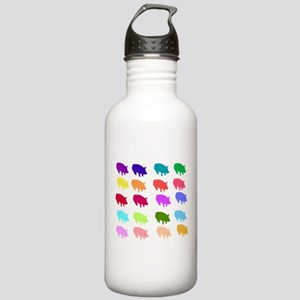 Rainbow Pigs Stainless Water Bottle 1.0L