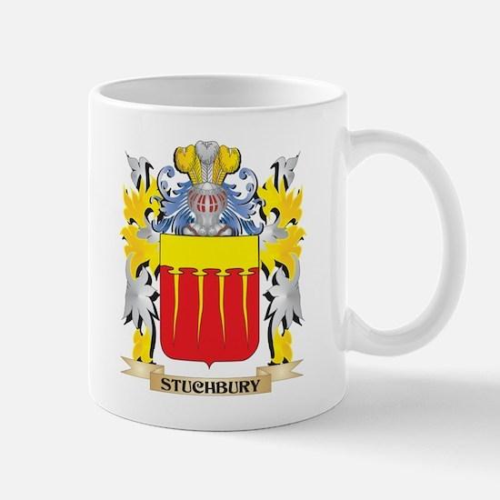 Stuchbury Family Crest - Coat of Arms Mugs