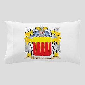 Stuchbury Family Crest - Coat of Arms Pillow Case