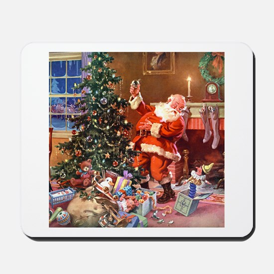 The Night Before Christmas Mousepad
