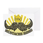 Mustache ride Greeting Cards (Pk of 10)