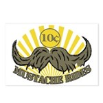 Mustache ride Postcards (Package of 8)