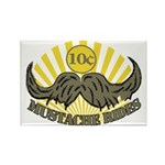 Mustache ride Rectangle Magnet
