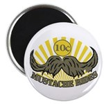 """Mustache ride 2.25"""" Magnet (10 pack)"""