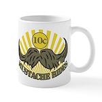 Mustache ride Mug