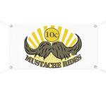 Mustache ride Banner