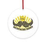 Mustache ride Ornament (Round)