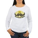 Mustache ride Women's Long Sleeve T-Shirt