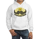 Mustache ride Hooded Sweatshirt