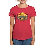 Mustache ride Women's Dark T-Shirt