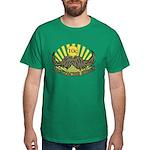Mustache ride Dark T-Shirt