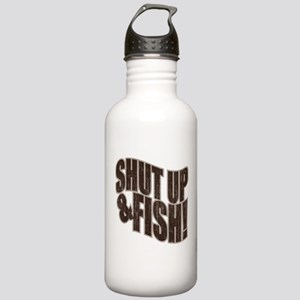 SHUT UP & FISH! Stainless Water Bottle 1.0L