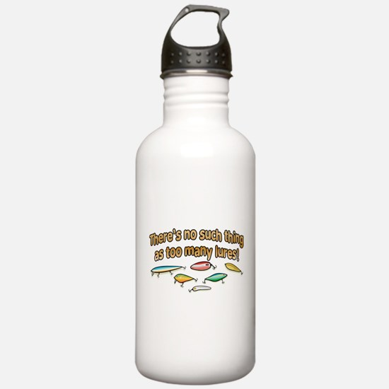 NO SUCH THING AS TOO MANY LUR Sports Water Bottle