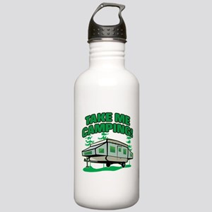 TAKE ME CAMPING! Stainless Water Bottle 1.0L