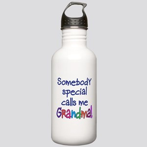 SOMEBODY SPECIAL CALLS ME GRA Stainless Water Bott