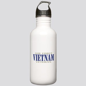 VIETNAM AIR FORCE VETERAN! Stainless Water Bottle