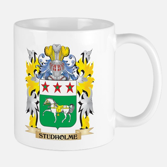 Studholme Family Crest - Coat of Arms Mugs