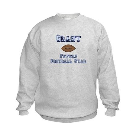 Grant - Future Football Star Kids Sweatshirt