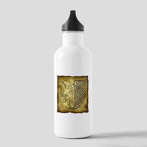 Celtic Letter J Stainless Water Bottle 1.0L