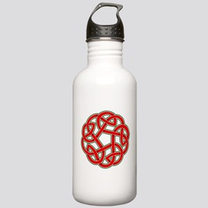 Celtic Christmas Knot Stainless Water Bottle 1.0L