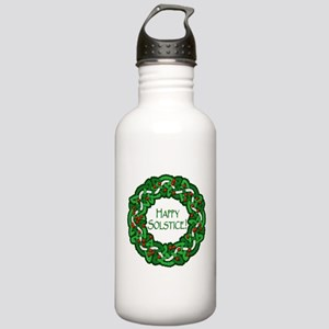 Celtic Solstice Wreath Stainless Water Bottle 1.0L