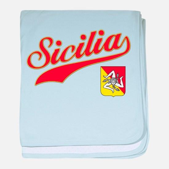 Sicilian Pride Infant Blanket