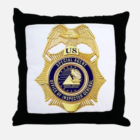 GSA Special Agent Throw Pillow