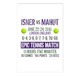Isner Epic Match Postcards (Package of 8)