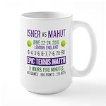 Isner Epic Match Large Mug