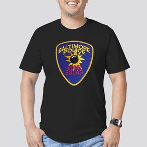 Baltimore Bomb Squad Men's Fitted T-Shirt (dark)