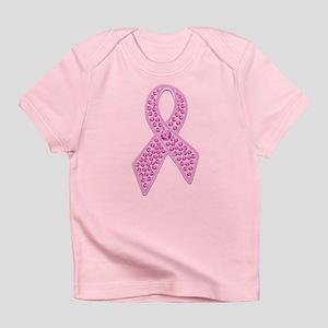 Pink Ribbon Jewels Infant T-Shirt