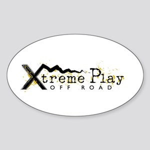 Xtreme Play off Road Club Oval Sticker