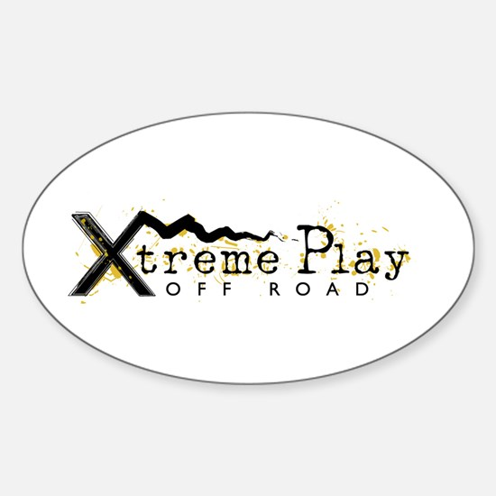 Xtreme Play off Road Club Oval Bumper Stickers