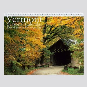 Vermont Landscape Photos Wall Calendar