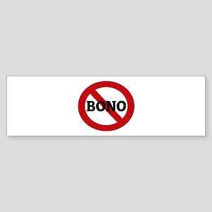 Anti-Bono Bumper Sticker
