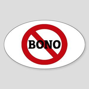Anti-Bono Oval Sticker