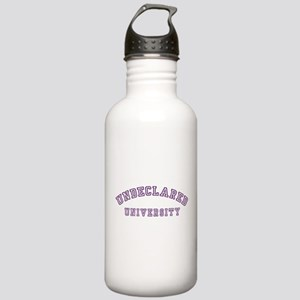 Undeclared University Stainless Water Bottle 1.0L