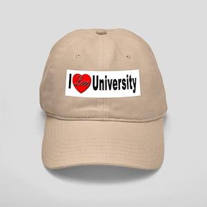I Love University Cap