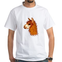 Awesome Alpacas White T-Shirt