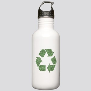 Recycling Symbol Stainless Water Bottle 1.0L