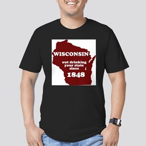 Wisconsin Outdrinking Your S T-Shirt