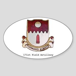 Oval Sticker/w 171st Crest