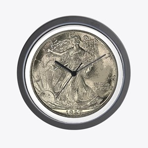 Walker Obverse Wall Clock