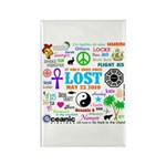 LOST Memories Rectangle Magnet