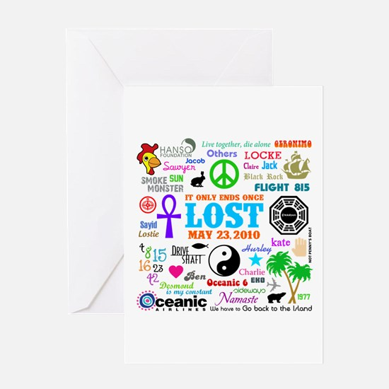 LOST Memories Greeting Card