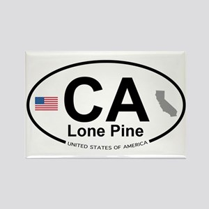 Lone Pine Rectangle Magnet