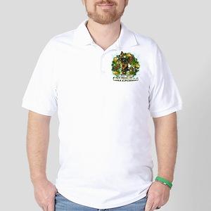Merry Christmas Min Pin Golf Shirt