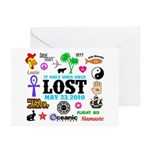 LOST Memories V2 Greeting Cards (Pk of 10)